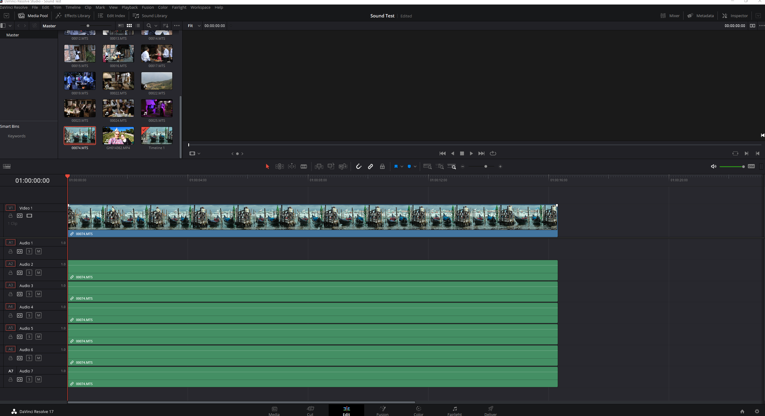 DaVinci Resolve Studio - Sound Test.png